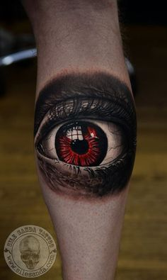 red eyes tattoo ideas scary best tattoos eyes tattoos and body art red Unique Tattoos For Men, Great Tattoos, Body Art Tattoos, Eye Tattoos, Horror Tattoos, Awesome Tattoos, Tattoo Art, Tatoos, Elbow Tattoos