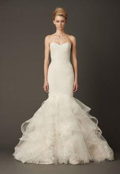 f102b84c8db8 Vera Wang, Lillian - Fall 2013 Collection, Size 6 Wedding Dress For Sale |.  Stillwhite