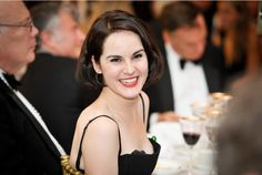 Michelle Dockery at the Downton Abbey ChildLine Ball, October 2013 Julian Fellowes, Rookie Blue, Downton Abbey Fashion, Michelle Dockery, You're Hot, Looking Gorgeous, Beautiful, People Of Interest, Celebs