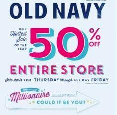 Old Navy Black Friday Ad 2013