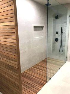 Wood Shower Walls Fixer Upper Teak Project Floor 3