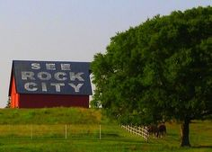 """Perhaps even more famous than the destination itself are over 900 barns in 19 states urging us since 1935 to """"See Rock City!"""" (Do you know the 7 states that can be seen from Lookout Mountain?) https://www.facebook.com/ThisIsOurSouth"""