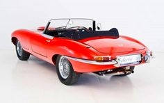"""The Jaguar E-Type is a classic car amongst classic cars.....Enzo Ferrari who famously called it """"The most beautiful car ever made""""....."""