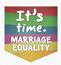 Proud to support marriage equality ❤️😄