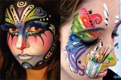 55 Halloween Face Painting Ideas Design Inspiration