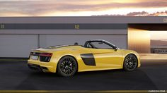 2017 Audi R8 V10 Spyder Wallpaper