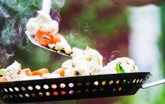 Summer grill vegetables, Finnish Food, August 2016
