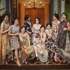 Modern design of batik and lace Kebaya Lace, Batik Kebaya, Dress Batik Kombinasi, Mode Batik, Blouse Batik, Kimono, Batik Couple, Model Kebaya, Dress Pesta
