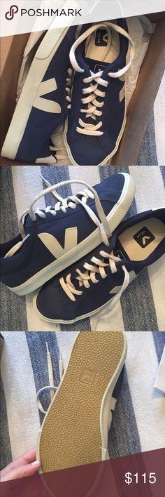 VEJA Brand new sneaker!! NWT | Blue sneakers, Sneaker brands