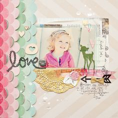 #papercrafting #scrapbooking #layouts - Scrapbooking » Maggie Holmes Design