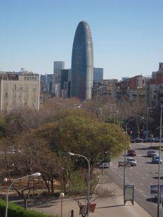 Torre Agbar, Av. Diagonal, Barcelona Cataluya