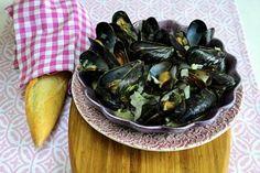 Resepti: Simpukat merimiehen vaimon tapaan.....