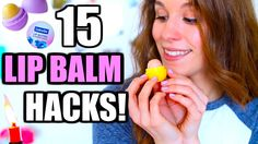 DAS kann DEIN Lippenbalsam auch! 15 GENIALE LIP BALM HACKS ♡ BarbieLoves...