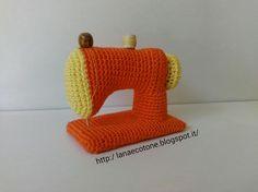 Lana e Cotone (maglia e uncinetto): Macchina da cucire all`uncinetto