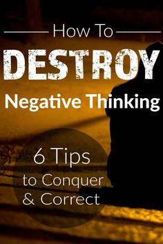 Negative Thinking affects business owners and employers all over. Learn how to overcome negative thoughts to better your business. #businesstips #negativethinking