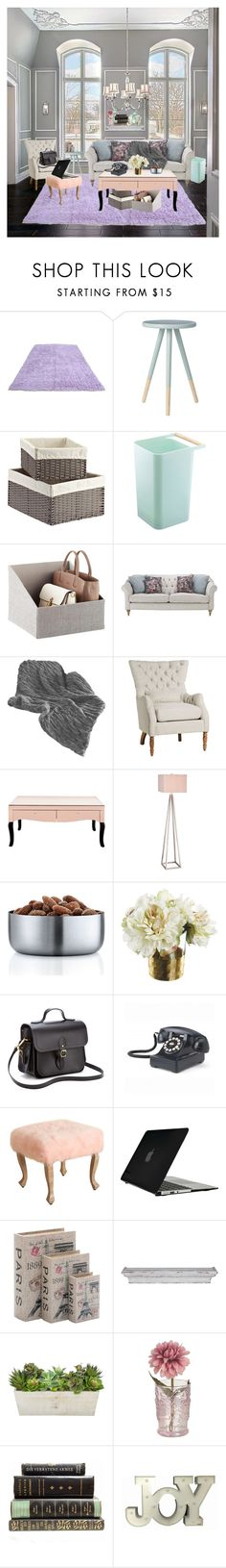 """""""Untitled #132"""" by cazziez ❤ liked on Polyvore featuring interior, interiors, interior design, home, home decor, interior decorating, Yamazaki, JAlexander, blomus and The Cambridge Satchel Company"""