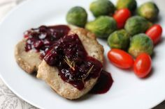Pork Tenderloin With Balsamic-Cranberry Sauce