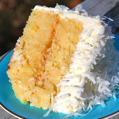 Coconut Pineapple Cake Recipe | Bakepedia