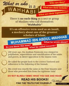 """What or Who is a """"Wahhabi""""?"""