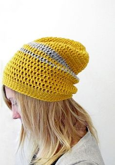 Crochet Urban Slouchy Beanie by Tanya-LTBlogged   Project   Crochet / Accessories   Hats   Outerwear   Men's   Kids & Baby   Kollabora