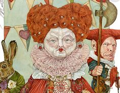 """Check out new work on my @Behance portfolio: """"Queen of Hearts"""" http://be.net/gallery/31916019/Queen-of-Hearts"""