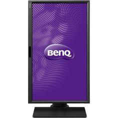 "BenQ - BL series BL2420PT 24"" IPS LED HD Monitor - Black/Non-glossy black"