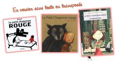 Autour du Petit Chaperon Rouge Education, School, Cover, Books, Albums, Traditional Tales, Readers Workshop, Classroom Management, Elementary Schools