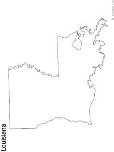 PennsylvaniaStateBlankOutlineMap Alli Pinterest State - Blank usa map with state outlines