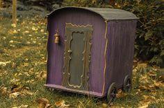 Kingyo dolls: Witch wagon