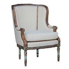 Bramble French Wing Chair 24379   Bramble French Wing Chair 24379Sku: 24379Manufacturer: BrambleCBM: 0.5Height: 40.56Width: 27.96Depth: 30.71