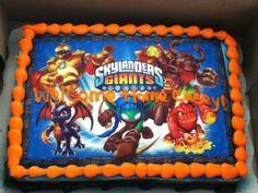 49 Best Z S Skylander Party Images Cake Ideas 6th Birthday