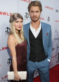 what a beautiful couple - Kenzie Dalton and Chad Michael Murray