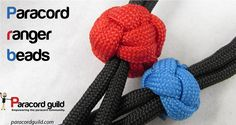 A tutorial on paracord ranger beads. Great for many projects!