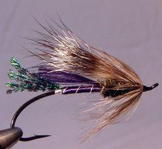 Purple RAT, atlantic salmon pattern