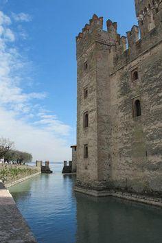 Scaliger Castle on Lake Garda, Italy