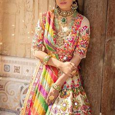 Bollywood Fashion 336010822202828434 - Source by senthoorib Indian Gowns Dresses, Pakistani Bridal Dresses, Indian Attire, Indian Outfits, Couture Dresses, Fashion Dresses, Rajasthani Dress, Bridal Lehenga Collection, Rajputi Dress