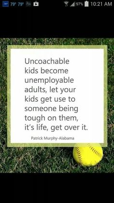 True, taught my boys this over and over. Get used to adversity, it makes you stronger and a better person in the end.