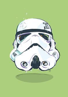 Fucking Star Wars by tomas drobisz, via Behance