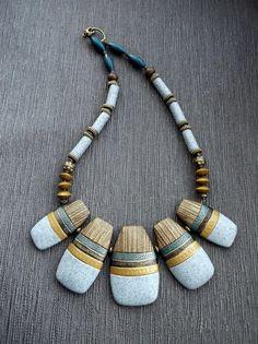Necklace by OLGA LEDNEVA | Polymer Clay Planet