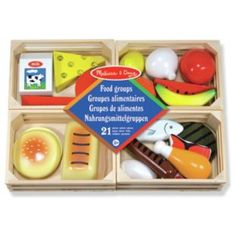 Buy Melissa and Doug Food Groups at Argos.co.uk - Your Online Shop for Pre-school, Cooking role play.
