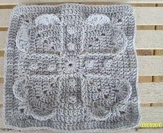 Crochet Granny Heart Tutorial met patroon/vertalen