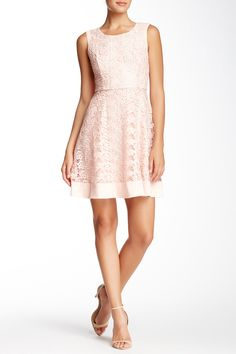 Sleeveless Lace Dress by Jessica Simpson on @nordstrom_rack
