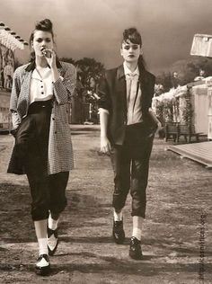 Love teddy girl style but a bit more casual. Teddy Girl, Teddy Boys, Teddy Boy Style, Mode Rockabilly, Rockabilly Fashion, Greaser Fashion, Rockabilly Dresses, Mode Style, Style Me