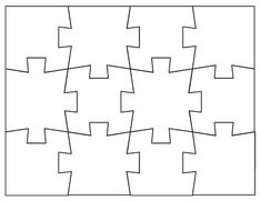 blank puzzles to print, has other sizes too, this one is 12 pieces