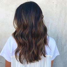 39 Best Hair Color Ideas and Styles, hair colours 2019 hair color trends, … 39 Beste Haarfarbe Ideen und Stile, Haarfarben 2019 Haarfarbentrends, … Brown Hair Balayage, Hair Highlights, Medium Hair Styles, Long Hair Styles, Short Styles, Rides Front, Dye My Hair, Cool Hair Color, Brunette Hair
