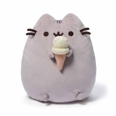 This squishy Pusheen plush is a perfect pal for dance parties and eating all of your favourite treats. We're sure she'll even let you have a lick of her ice cream!