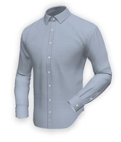 Tailor Made Shirts, Men Shirts, Dress Shirt And Tie, Dress Shirts, New Blue, Blue Square, Formal Shirts, White Shirts, Colorful Shirts