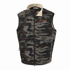 Men's Camo Vest Camo Vest, Coyote Hunting, Softshell, Jackets, Fashion, Down Jackets, Moda, Fashion Styles, Fashion Illustrations
