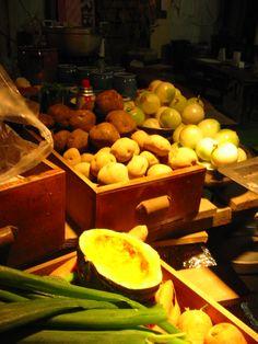 山盛りの野菜たち。