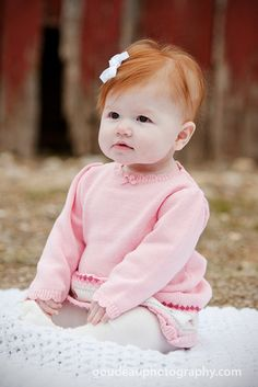 GINGER! i wish i wasnt bald into toddlerhood. i totally missed out on this part of life. ugh.